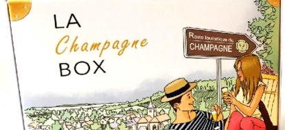 Lancement de la CHAMPAGNE BOX