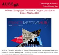 Communiqué de presse – Octobre 2015 – Meeting Hub