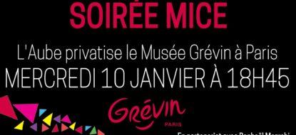 Soirée MICE au Musée Grévin à Paris