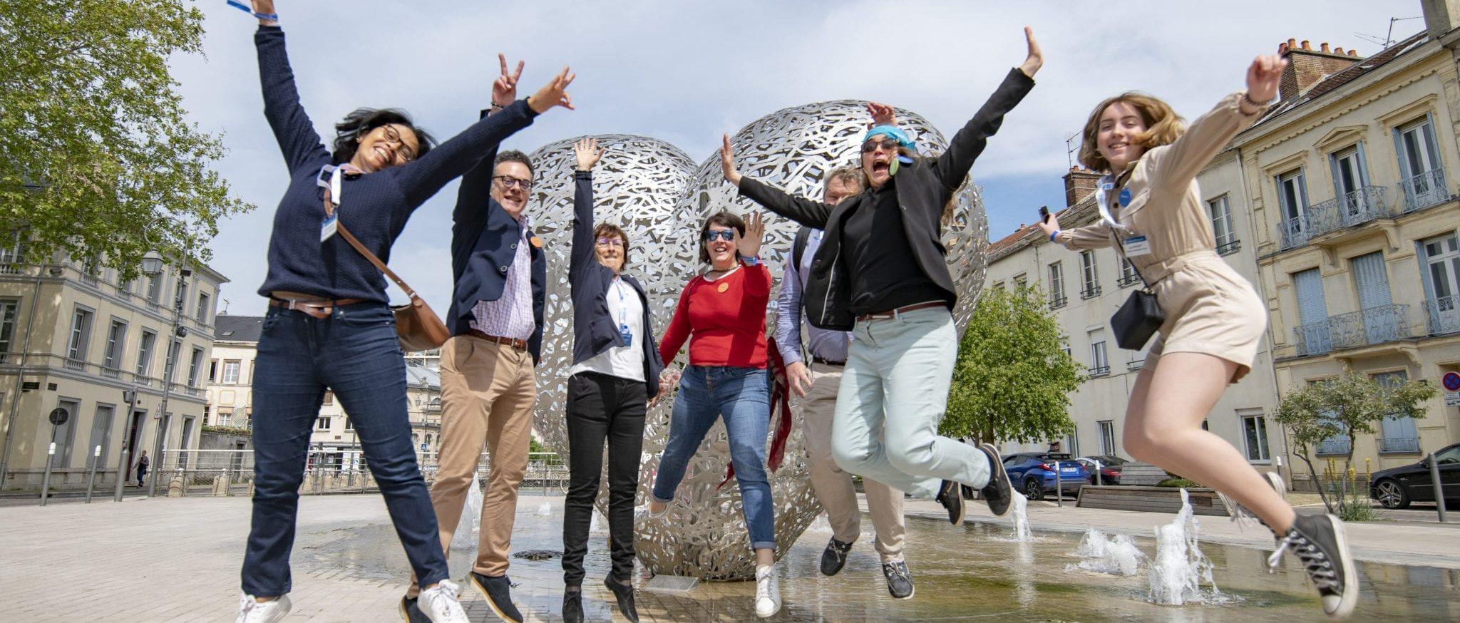 Les participants MP2 à la découverte de Troyes
