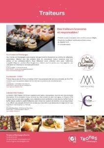 Troyes la Champagne Events - Nos Traiteurs