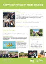 Troyes la Champagne Events - Activités Incentives et Team Building Couverture